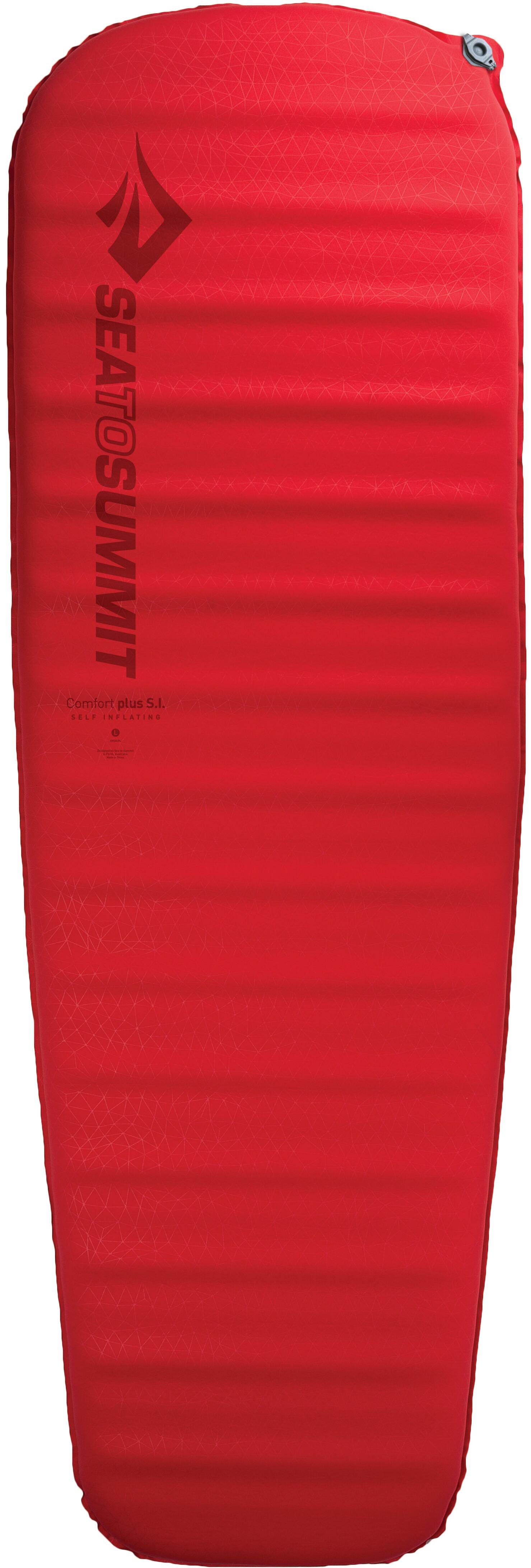 Sea To Summit Comfort Plus Si Slaapmat Large Rood L Outdoor Winkel Matras Sleeping Mat Regular
